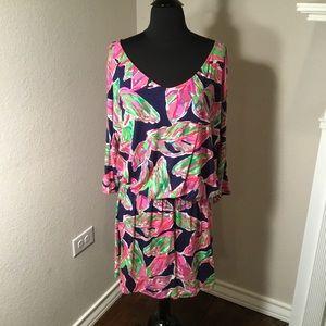 Lily Pulitzer Cara dolman sleeve knit dress